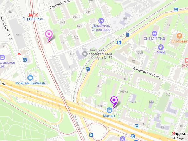 эротический массаж у метро Стрешнево в салоне Феникс