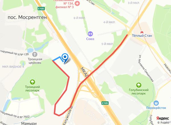 41 км. МКАД Рынок Славянский Мир