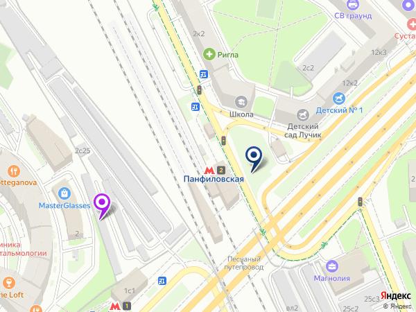 массаж метро Панфиловская