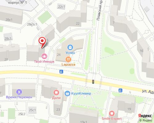 Стоматология «Дали» - г. Москва, улица Адмирала Лазарева, 26