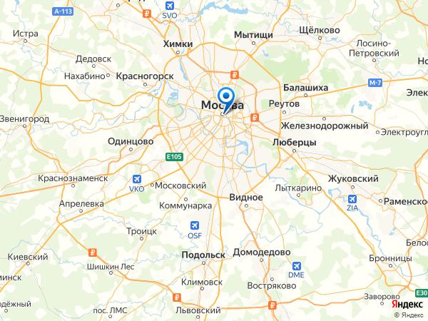 Москва какая область россии