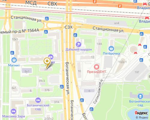 Карта проезда Москва