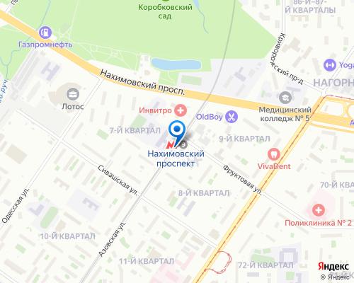 Ремонт холодильников у станции метро Нахимовский проспект