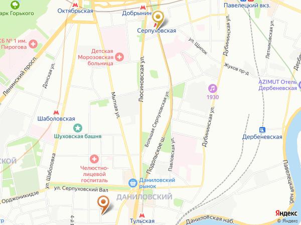 эротический массаж у метро Серпуховская в массажном салоне Мадонна в Москве