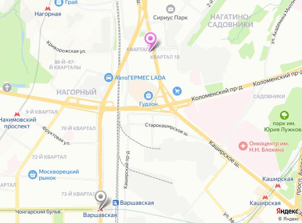 массаж Варшавская