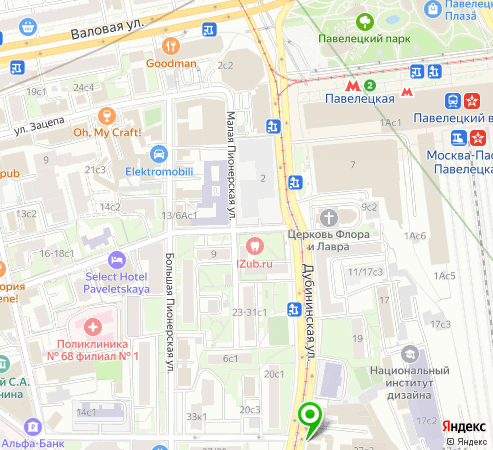 Пункт самовывоза магазина Znakstend.ru в Москве