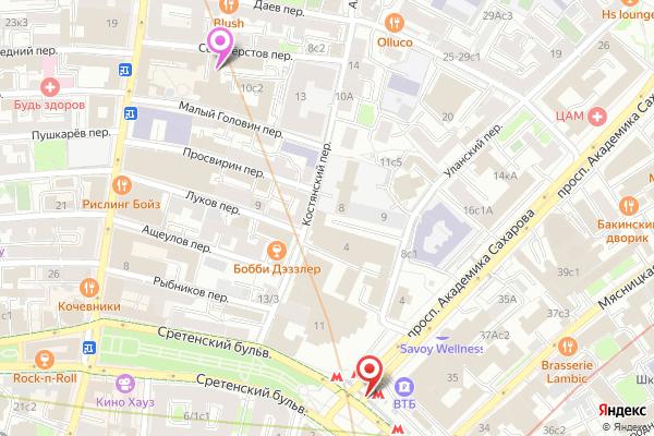салон эротического массажа на Сретенском бульваре