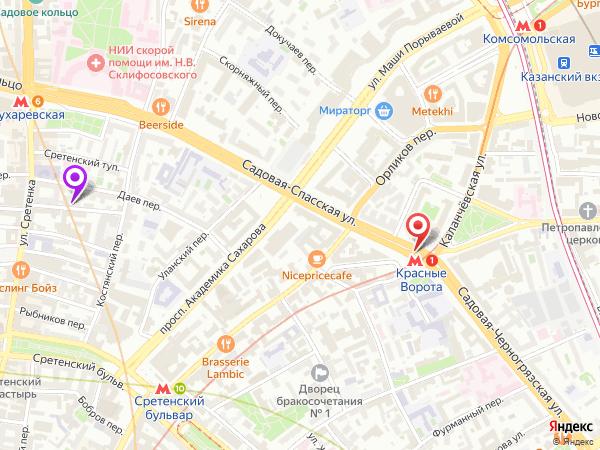 салон эротического массажа у метро Красные Ворота
