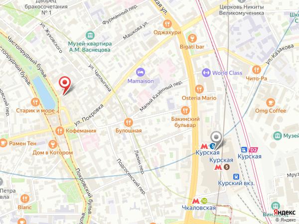 салон эротического массажа у метро Курская