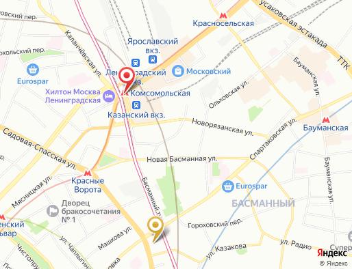 массаж метро Комсомольская