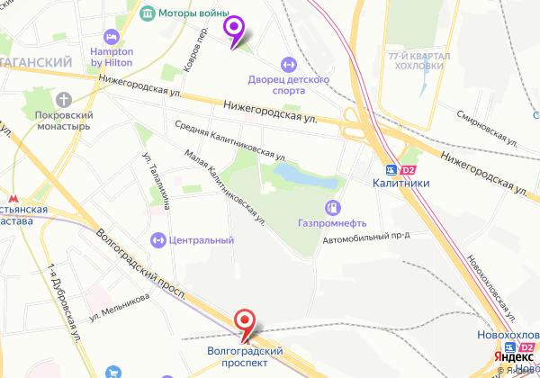эротический массаж Волгоградский проспект