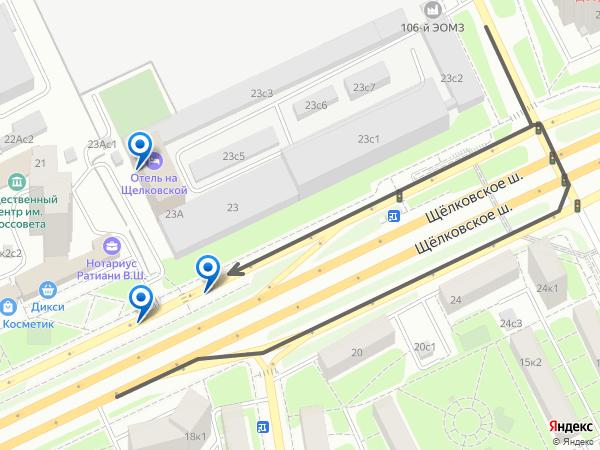 Открыть на Яндекс-картах
