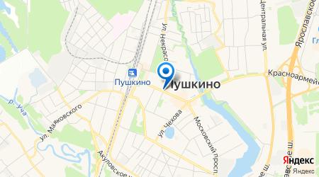 Лестница на металлокаркасе в Пушкино