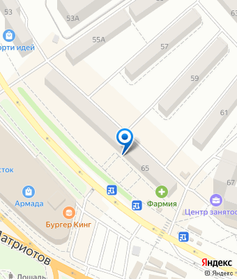 "Центр по работе с клиентами компании ""Виоларт"" на карте Яндекс"
