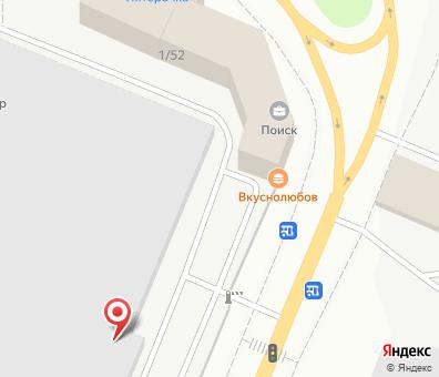 Местоположение на карте