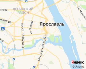 Карта Ярославля
