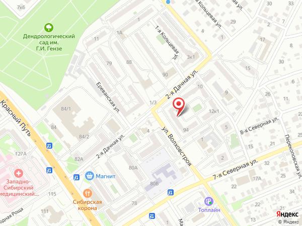 Печатная версия схемы проезда к филиалу КИП-Сервис в Омске