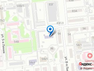 Местонахождение на Яндекс-карте