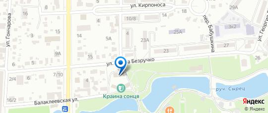 WCS на Яндекс-карте Киева