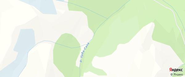 Карта местечка Урды Бии в Бурятии с улицами и номерами домов