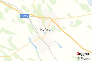 Карта пгт Куйтун