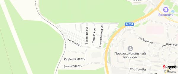 Территория ДПК Ручей на карте Братска с номерами домов