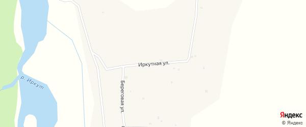Иркутная улица на карте местечка Вышки с номерами домов