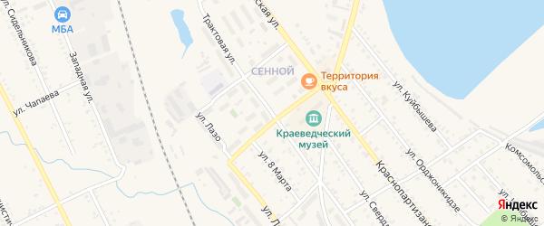 Трактовая улица на карте Зимы с номерами домов
