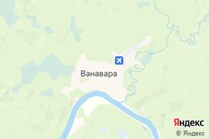Карта с. Ванавара Красноярский край