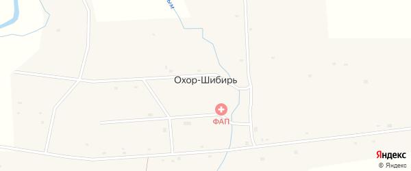 Улица Ленина на карте улуса Охор-Шибирь с номерами домов