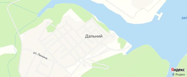 Карта Дальнего поселка в Иркутской области с улицами и номерами домов