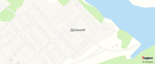 Саратовская улица на карте Дальнего поселка Иркутской области с номерами домов