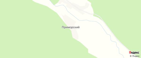 Карта Приморского поселка в Иркутской области с улицами и номерами домов