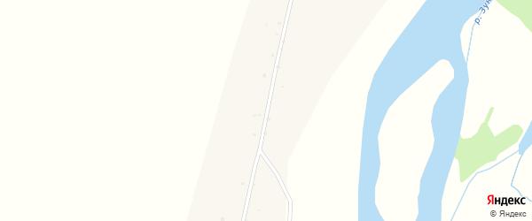 Улица Зарбуева на карте улуса Шанай с номерами домов