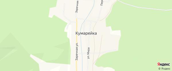 Карта села Кумарейки в Иркутской области с улицами и номерами домов