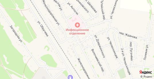 Волочаевская улица в Черемхово с номерами домов на карте. Спутник и схема онлайн