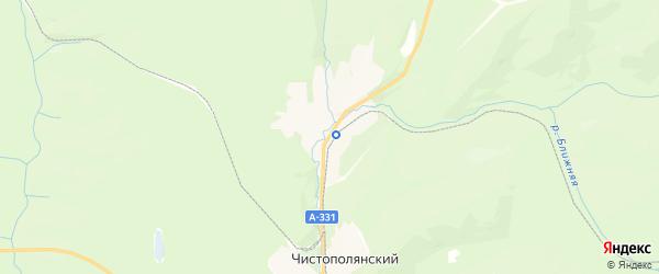 Карта поселка Видима Иркутской области с районами, улицами и номерами домов