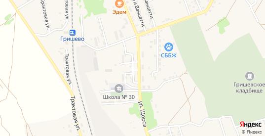 Лесопильный переулок в Черемхово с номерами домов на карте. Спутник и схема онлайн