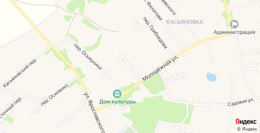 Клубный переулок в Черемхово с номерами домов на карте. Спутник и схема онлайн
