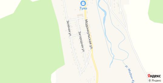 Загородная улица в Закаменске с номерами домов на карте. Спутник и схема онлайн