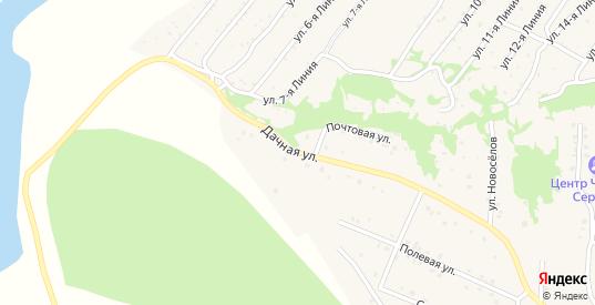 Дачная улица в Закаменске с номерами домов на карте. Спутник и схема онлайн