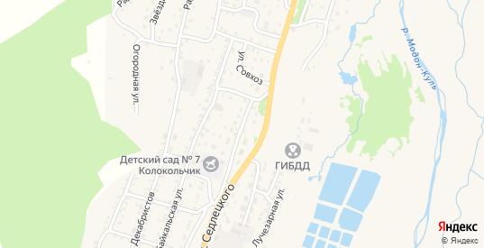 Школьная улица в Закаменске с номерами домов на карте. Спутник и схема онлайн