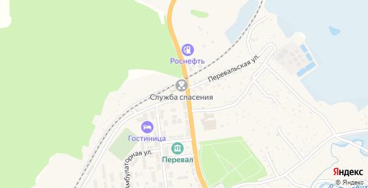 Перевальская улица в Слюдянке с номерами домов на карте. Спутник и схема онлайн