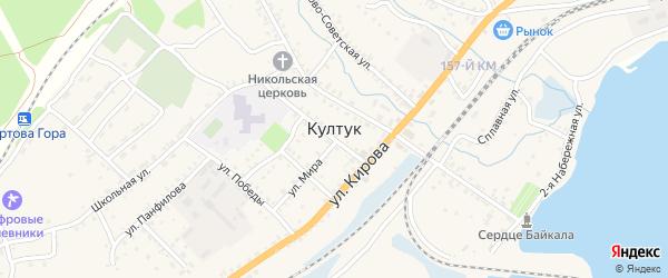5300-й километр на карте территории Остановочного пункта ВСЖД Иркутской области с номерами домов