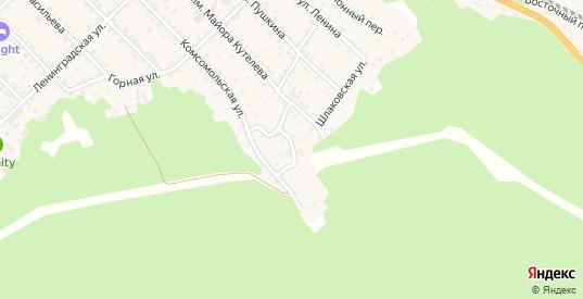Цветочный переулок в Слюдянке с номерами домов на карте. Спутник и схема онлайн