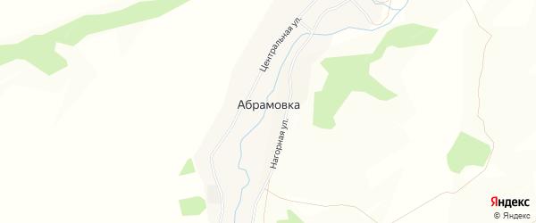 Карта деревни Абрамовки в Иркутской области с улицами и номерами домов