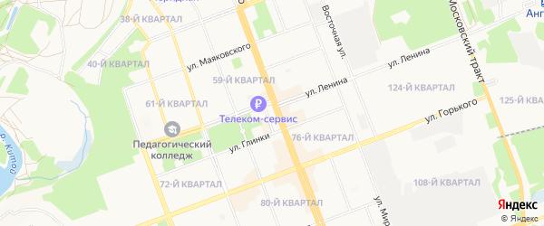ГСК Таврия на карте Ангарска с номерами домов