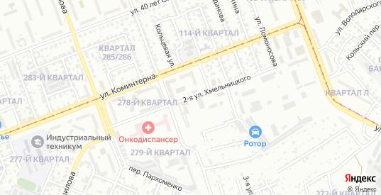 Хмельницкого 2-я улица в микрорайоне Байкальск в Ангарске с номерами домов на карте. Спутник и схема онлайн