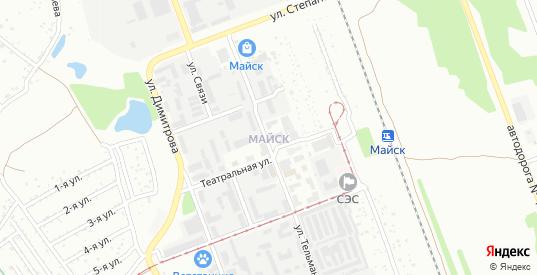 СНТ Протока в микрорайоне Майск в Ангарске с номерами домов на карте. Спутник и схема онлайн