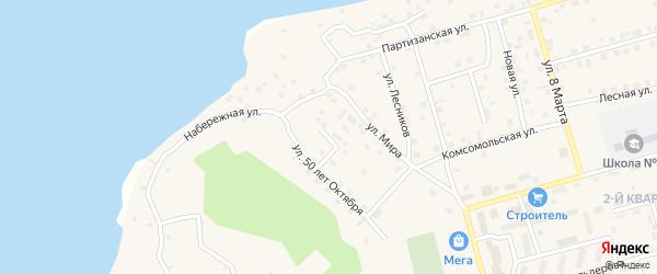 9 Мая улица на карте Киевского микрорайона с номерами домов